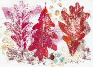 Leaf Impressions Printmaking Workshop (October 6)